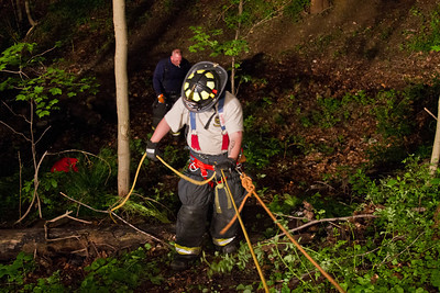 5-22-12 Rope Rescue Drill