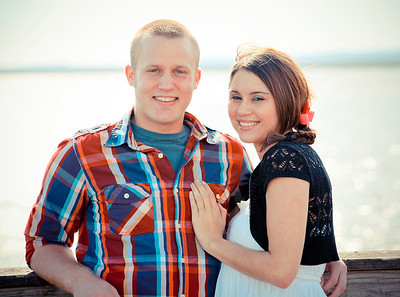 Southport Engagement Photography Shelby and Kacey