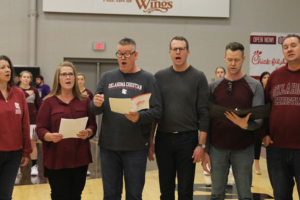 90's Alumni sing National Anthem