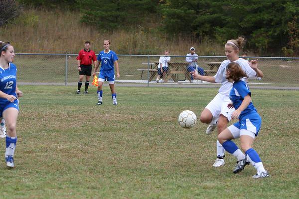 Girls Varsity vs Morgantown, 9/27