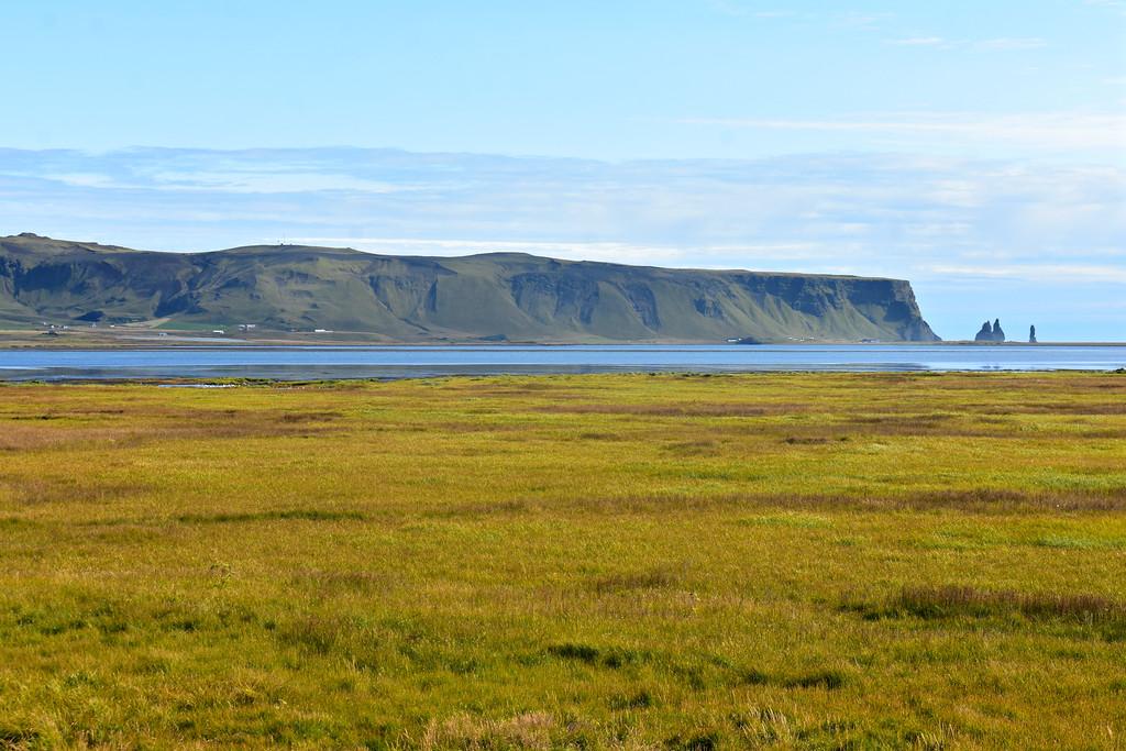 Dyrhólaós estuary mudflats along Iceland's South Coast