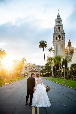 Tattiana + Jonathan | Prado Wedding | San Diego Wedding Photographer