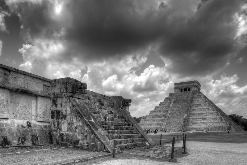 Temple of Kukulcan - Chichen Itza, Yucatán, Mexico - August 16, 2014