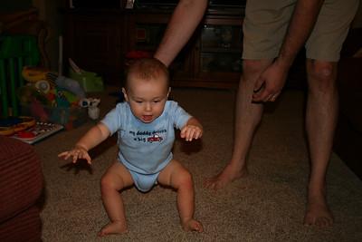 Cody Starting to Walk - September 2010