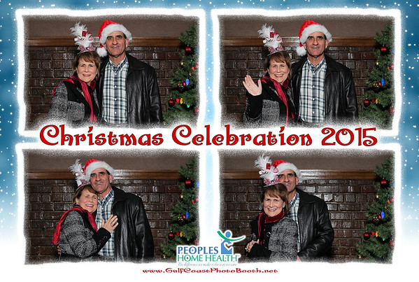 Peoples Home Health Christmas Party 2015