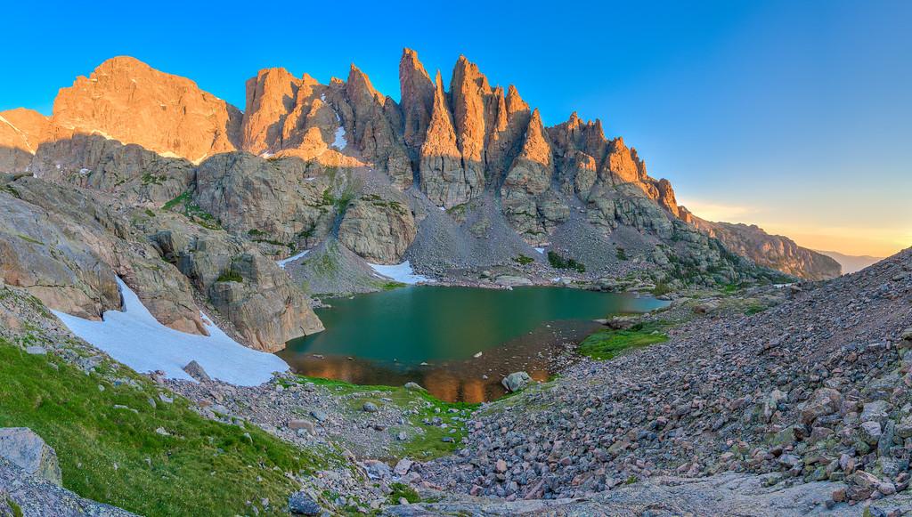 Sky Pond Rocky Mountain National Park Colorado