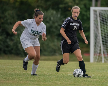 Girls Soccer:  Hall-Dale vs Spruce Mountain