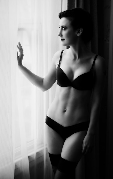 RGP061712-Photoshoot-Cornell Hotel-Chalyce in Lingerie Staring out Window-Full JPG.jpg
