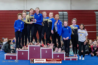 HS Sports - Cardinal Gymnastics Invite [d] Feb 02, 2019