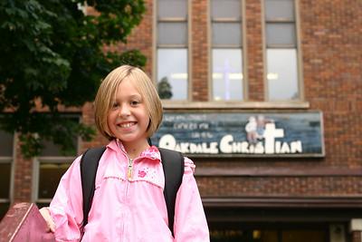 Hannah's 1st day of Third Grade