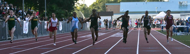 Girls 100 Meter Finals