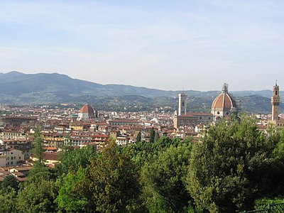 View of Florence from the Boboli Gardens / Gina's Photos