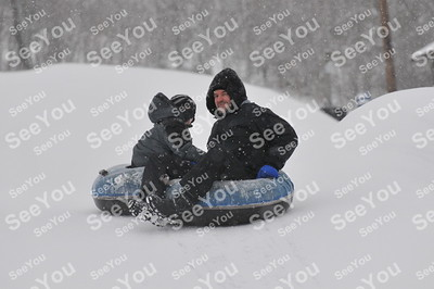 Snow Tubing 3-1-13 3pm-5pm Session