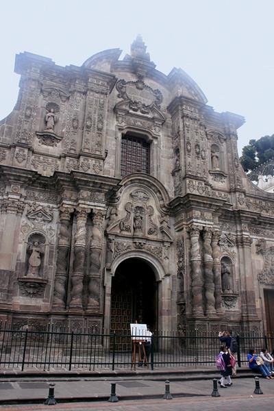 Entrance to the Santo Domingo Church