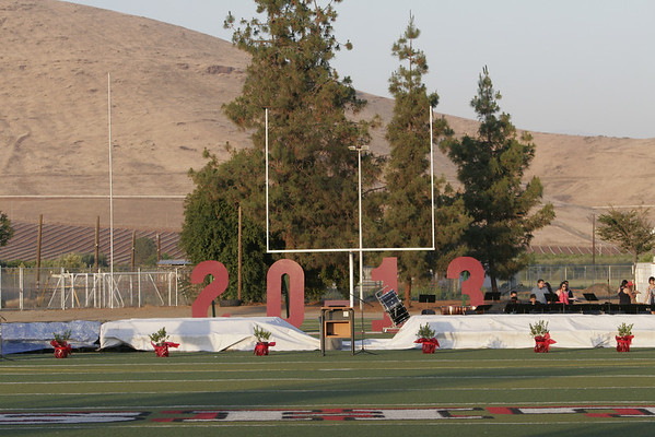 Lindsay High School Commencement - June 7, 2013