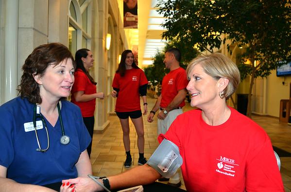 Go Red for Women Week at Mercer
