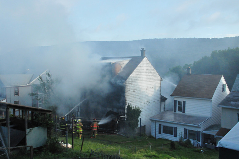 Coal Township House Fire  7-4-2013 001.JPG