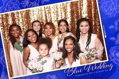 2019.02.23 Blue Wedding