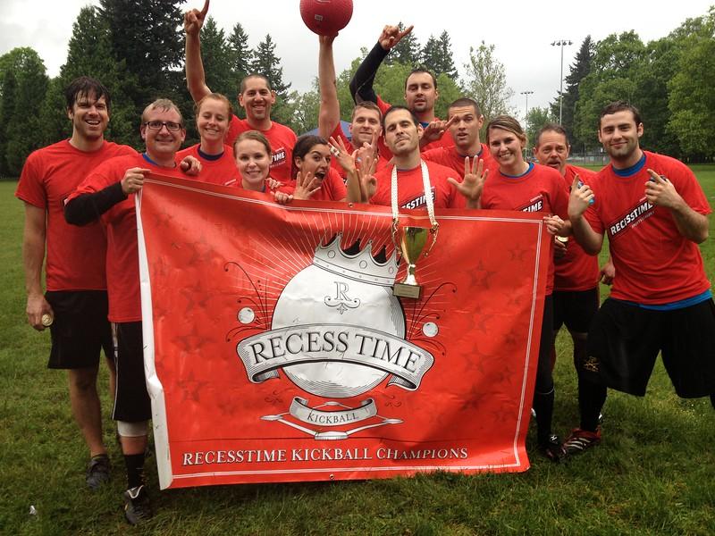 Recesstime Portland Kickball Dodgeball Bowling Ping Pong Mushball - 496