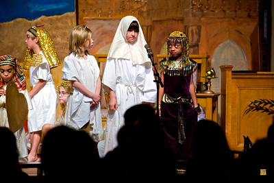 Second Grade Exodus Play, April 9, 2010
