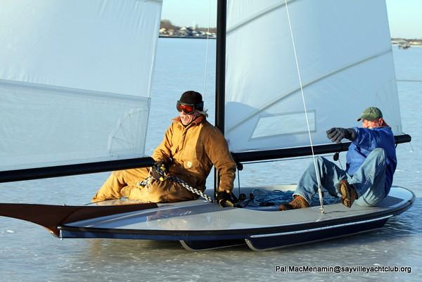 Ice Boating at SYC