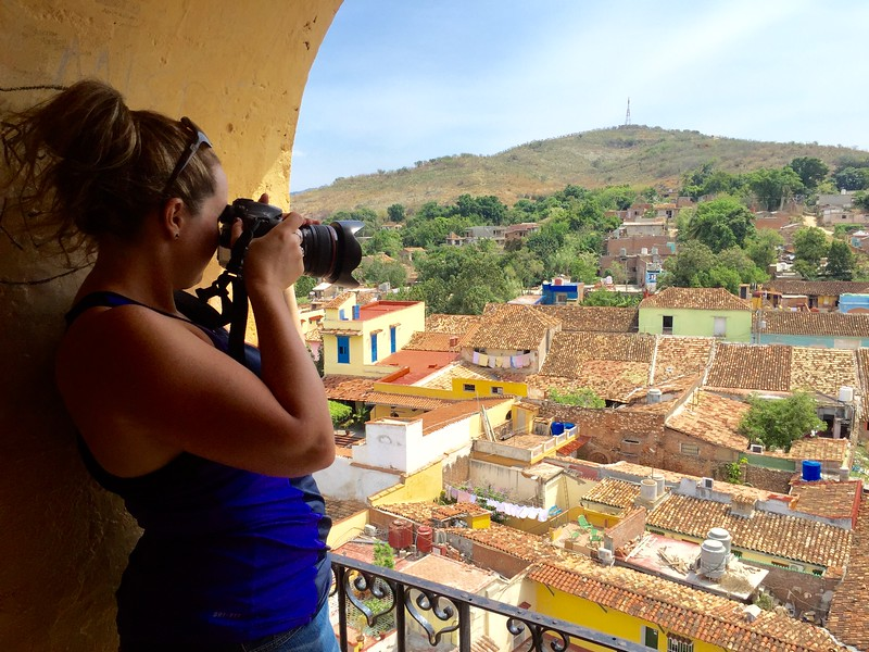 Photographing Trinidad, Cuba