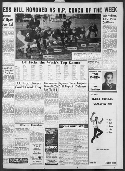 Daily Trojan, Vol. 43, No. 28, October 25, 1951