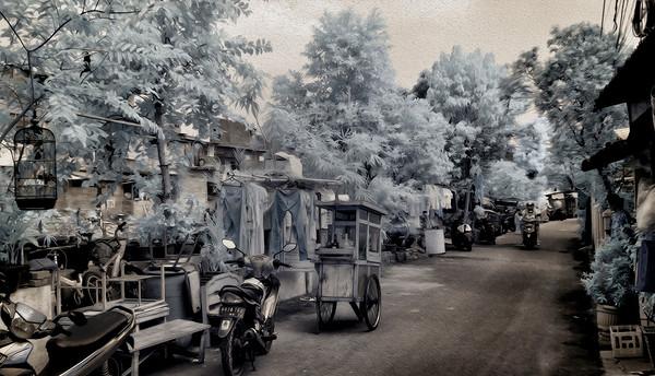 Kampung Cikini Morning Photo Walk, Jakarta, Indonesia