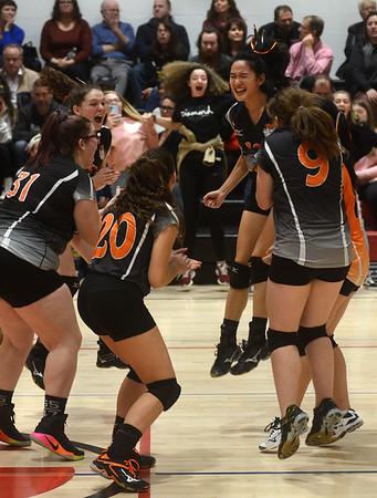 Lee girls defeat Mt. Greylock in volleyball semifinals - 110718