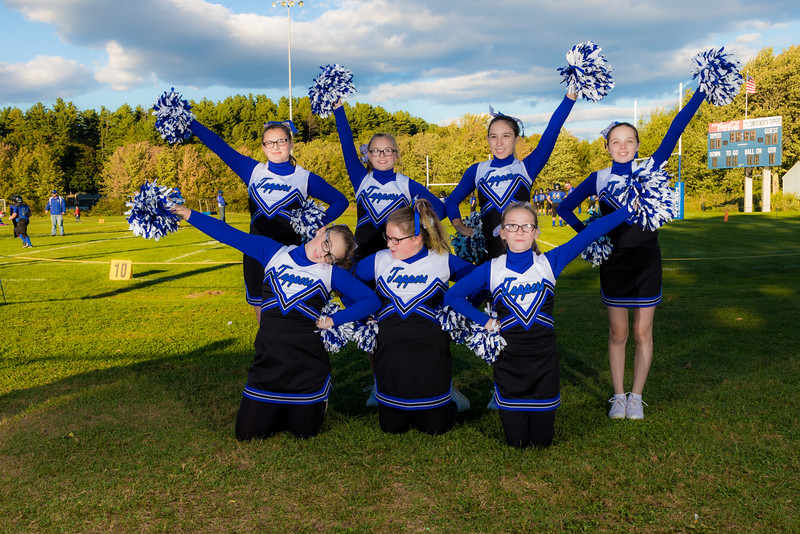 SMS Cheerleaders 092516