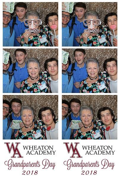 "Wheaton Academy ""Grandparents Day 2018"""