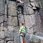 Devon climbing