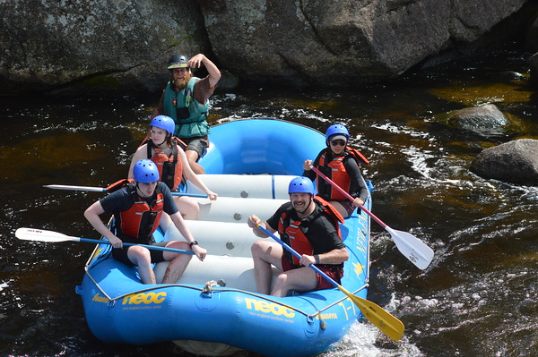Penobscot River Rafting Photos 2020