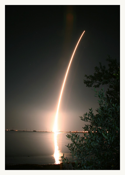 Delta rocket launch