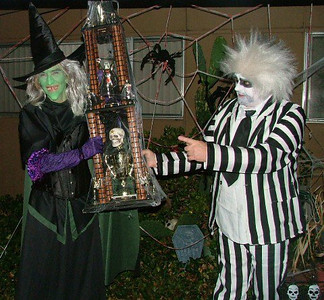 I win first place for my witch costume!