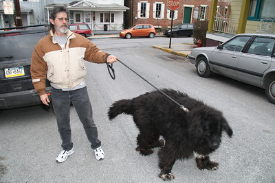 Big Dog, Gay St, Tamaqua (2-18-2012)