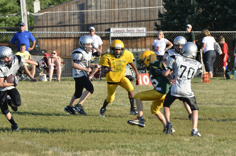 Wildcats vs Raiders Scrimmage 046.JPG