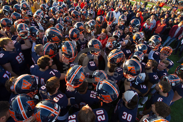 Wheaton College Football v Carroll, November 12, 2016