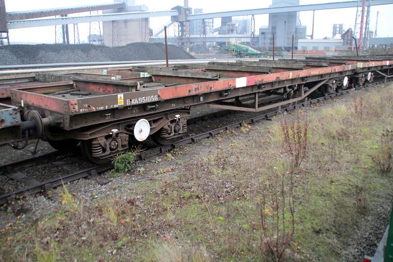 BEA 951056 Scunthorpe Trent Yard stored 24/11/12.