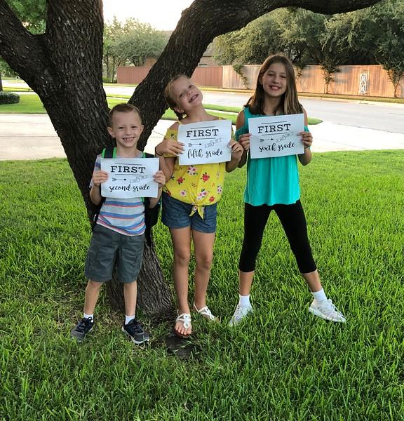 Nathan, Hannah and Sascha | Naumann Elementary School and Henry Middle School