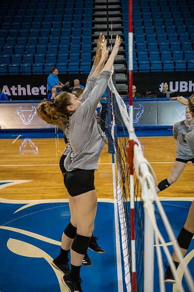 UB v  WESTERN MICHIGAN VOLLEYBALL
