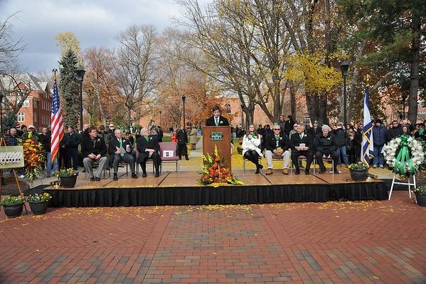 11.14.14 Fall Memorial Fountain Ceremony