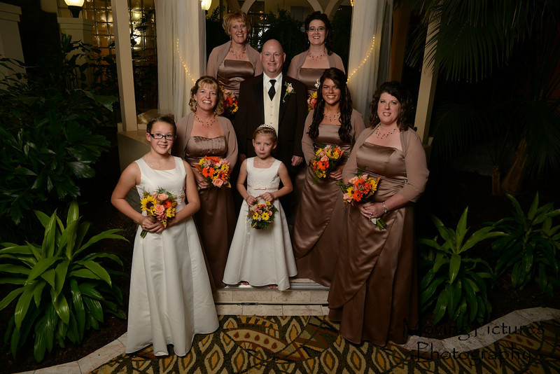 Mark with all of the ladies