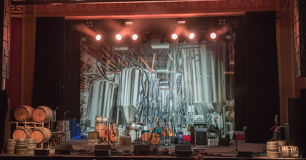 The UC Theatre March 31,2017 with Ghost of Paul Revere, Horsehoes and Hand Grenades and Goodnight, Texas