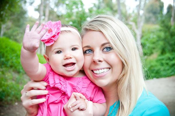 Portraits - Balboa Park Aunt Alison & Baby Harper
