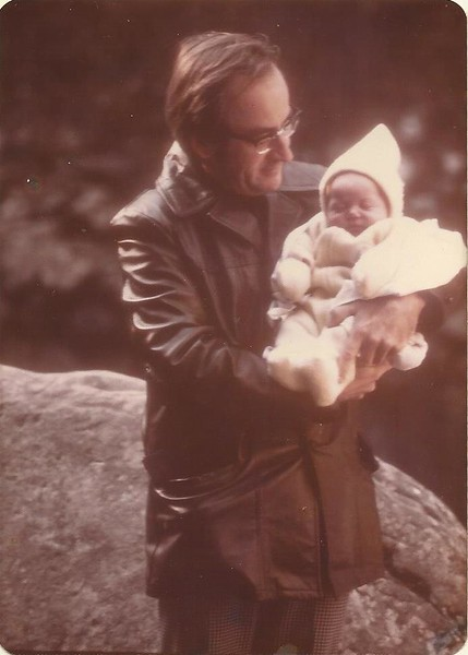 First grandchild 1976.jpg