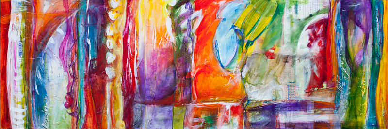 Pesce, 20 x 60 inches, sold