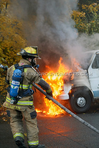 Kneen St. Van Fire (Shelton, CT) 11/22/07