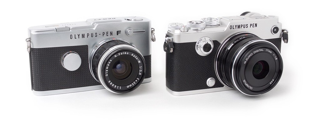 Olympus PEN-F and Film PEN FT