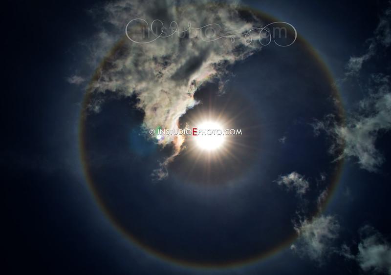 SunDog over North Port Fl 2012